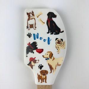 Sur La Table Kitchen - Tovolo Dogs Woof Spatula Lab Retriever Pug Terrier